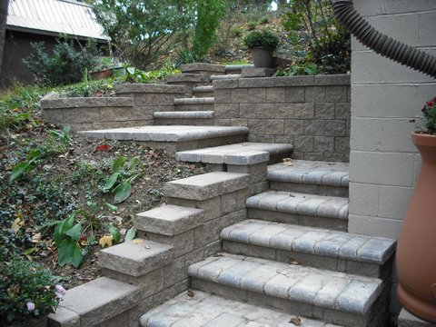 how to fix pitted pavers